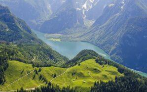 В Баварских Альпах все по высшему разряду — и лыжи,…