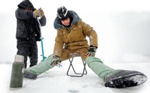 БЕЛЫЙ СПОРТ — Рыбакам и сноубордистам морозы в радость