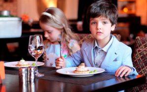 Украинские родители уже морально готовы брать детей во взрослые рестораны