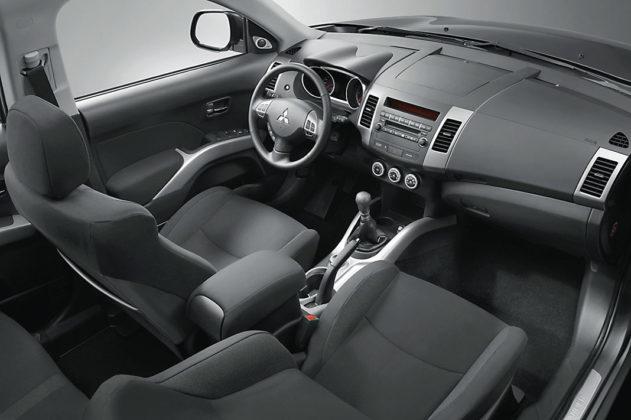 Подержанный Mitsubishi Outlander, картинка, фото, изображение
