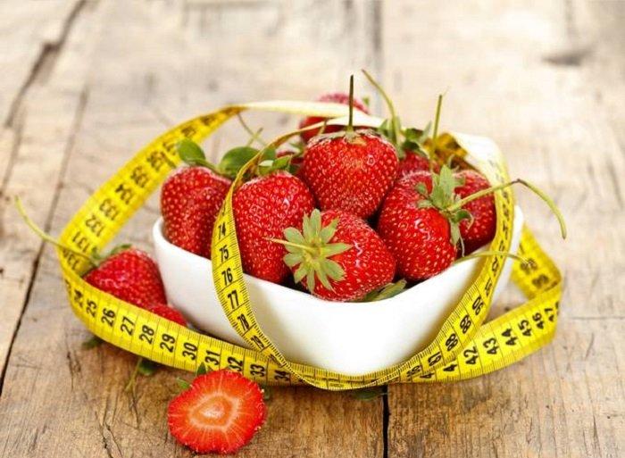 Клубничная диета для похудения