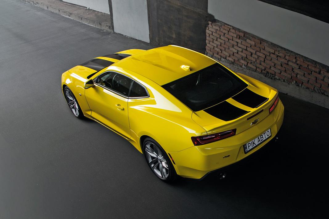 Тест-драйв Chevrolet Camaro. Никаких революций, картинка, фото, изображение