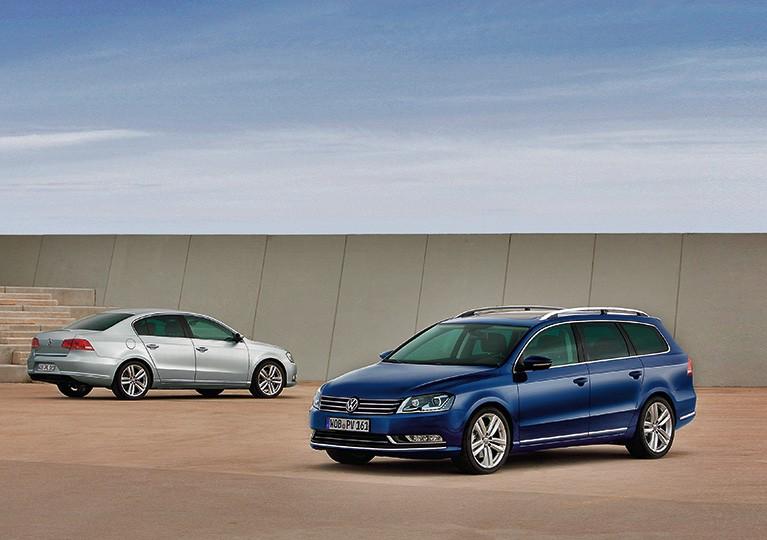 Обзор подержанного Volkswagen Passat B7, картинка, фото, изображение