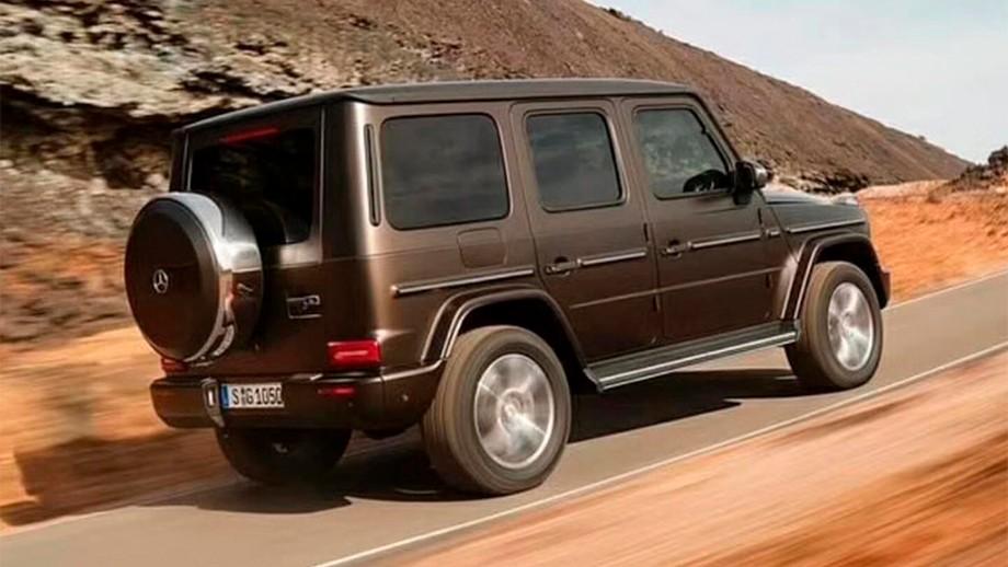 Новый Mercedes-Benz G-Class — технические подробности, картинка, фото, изображение