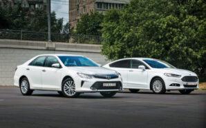 Сравнительный тест: Toyota Camry и Ford Mondeo