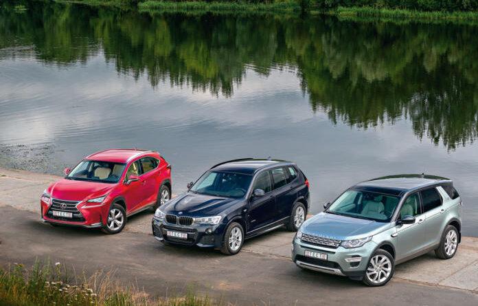 Сравнительный тест: Land Rover Discovery Sport, BMW X3, Lexus NX