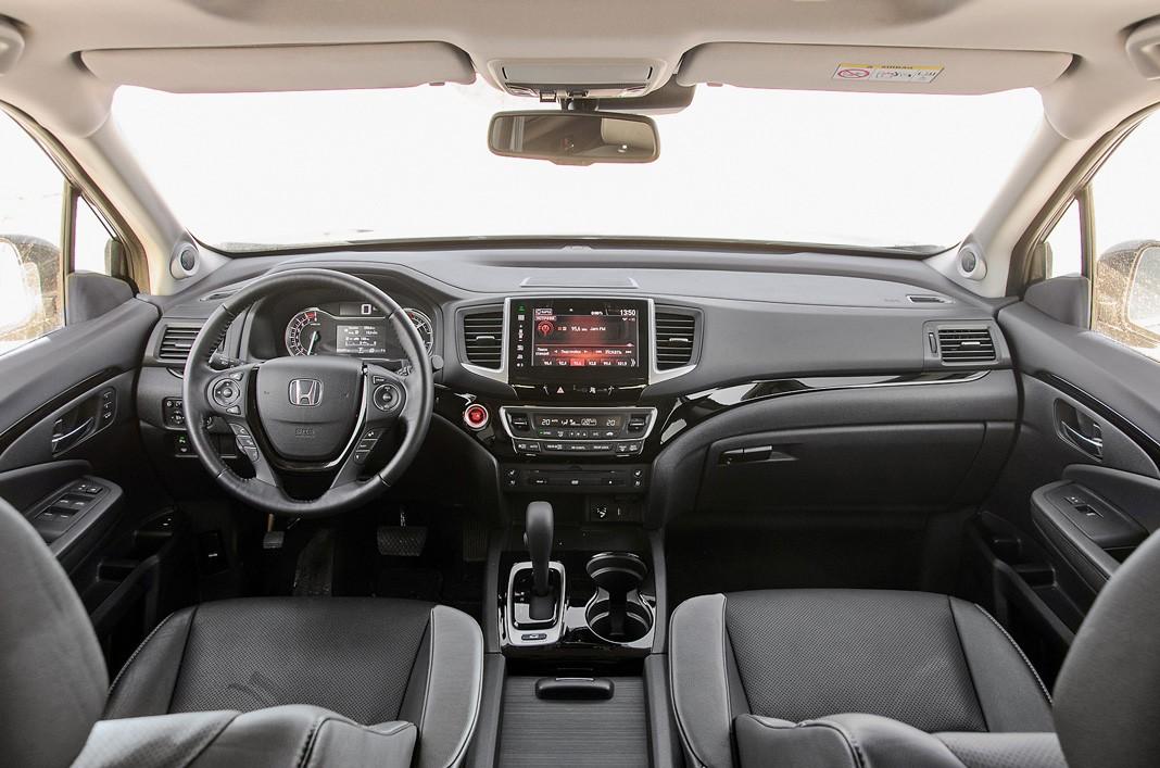 Тест-драйв Honda Pilot 2017. Технологии вместо брутальности, картинка, фото, изображение