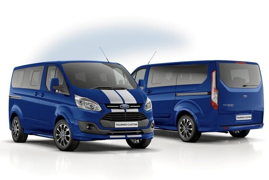 Как выглядит самый быстрый Ford Transit и Tourneo?, картинка, фото, изображение