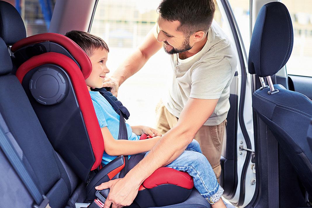 Детское автокресло: правила выбора