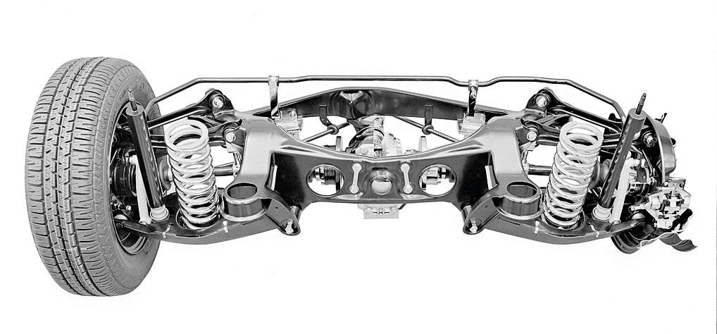 5 самых распространенных типов подвески автомобиля, картинка, фото, изображение