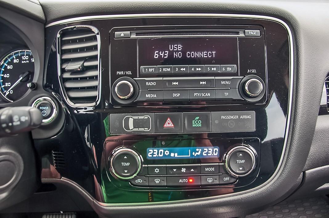Тест-драйв Mitsubishi Outlander PHEV. Как у полиции, картинка, фото, изображение