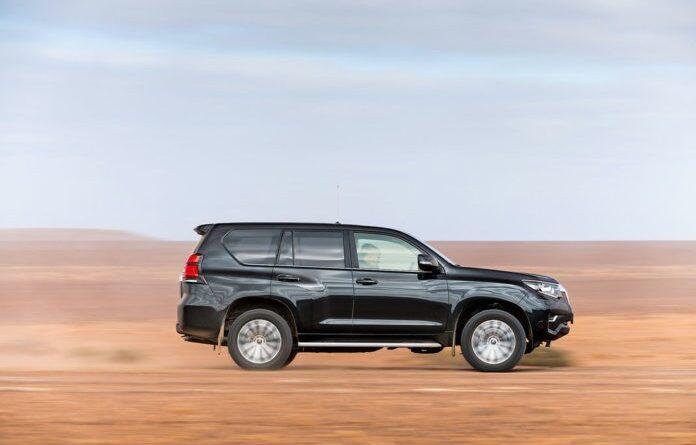 Тест-драйв Toyota Land Cruiser Prado. Корабль пустыни