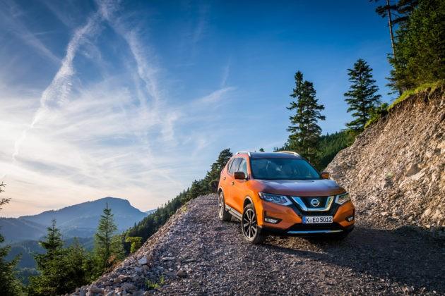 Тест-драйв Nissan X-Trail 2017, картинка, фото, изображение