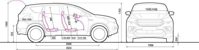 Сравнительный тест: Ford Kuga против Toyota RАV4, картинка, фото, изображение