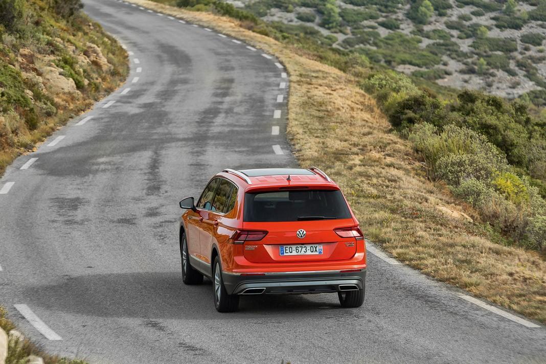 Тест-драйв Volkswagen Tiguan Allspace. Места много не бывает, картинка, фото, изображение