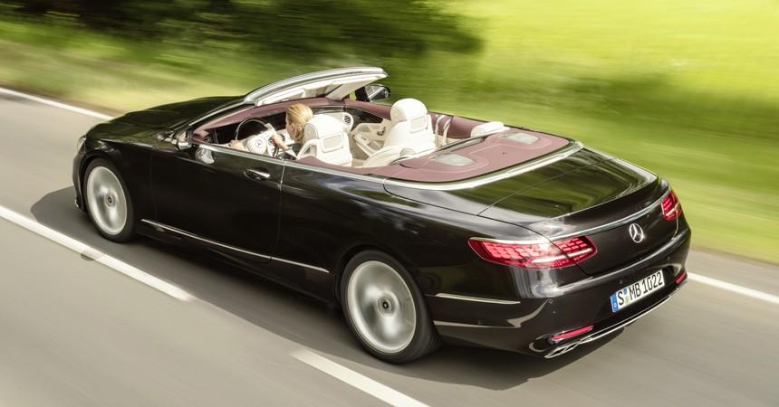 Во Франкфурте покажут обновленные купе и кабриолеты Mercedes S-класса, картинка, фото, изображение