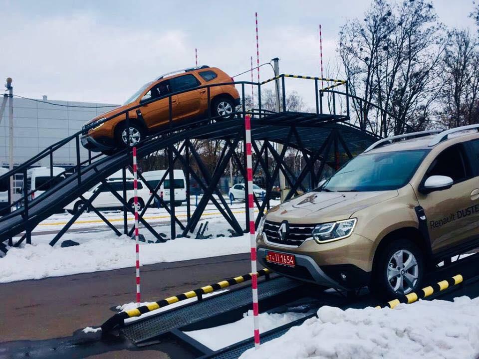 Новый Duster 2018 уже в Украине